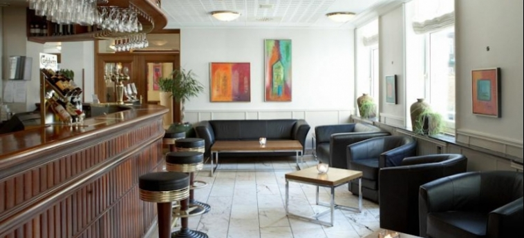 Hotel Scandic The Mayor: Indoor Bar AARHUS