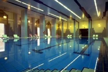 Hotel Inter-Continental: Piscina Cubierta ABHA