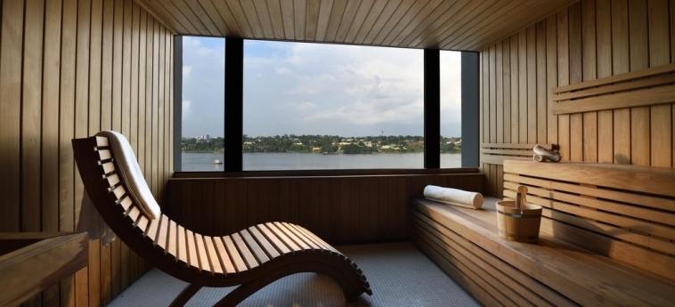 Hotel Pullman Abidjan: Sauna ABIDJAN