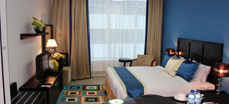 Al Diar Sawa Hotel Apartments: Bedroom ABU DHABI