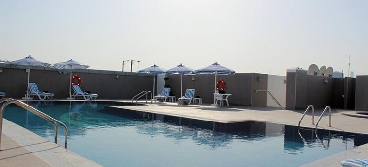 Al Diar Sawa Hotel Apartments: Swimming Pool ABU DHABI