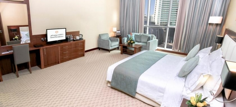 Hotel Danat Residence: Camera Matrimoniale/Doppia ABU DHABI