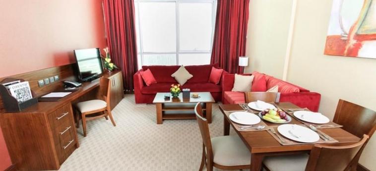 Hotel Danat Residence: Interno ABU DHABI