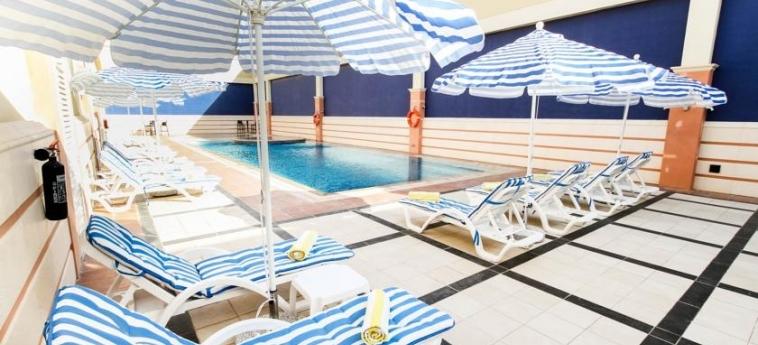 Hotel Danat Residence: Piscina Esterna ABU DHABI