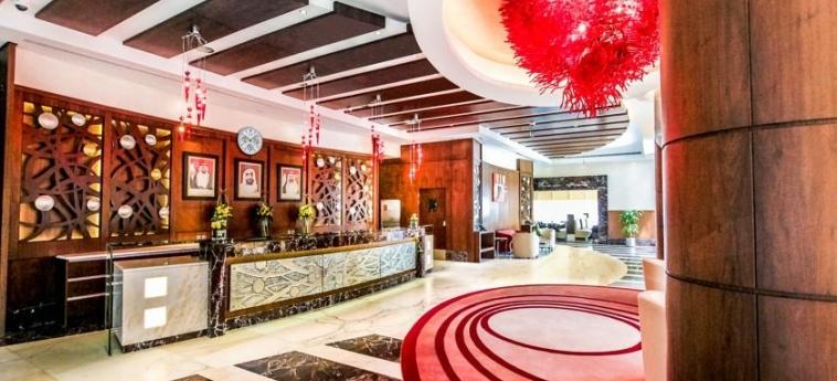 Hotel Danat Residence: Reception ABU DHABI