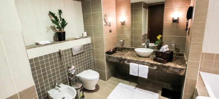 Hotel Danat Residence: Badezimmer ABU DHABI