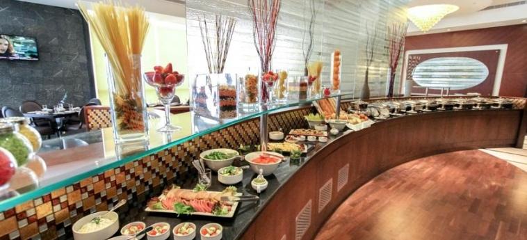 Hotel Danat Residence: Buffet ABU DHABI