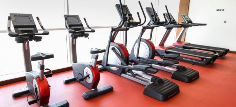 Hotel Danat Residence: Fitnesscenter ABU DHABI