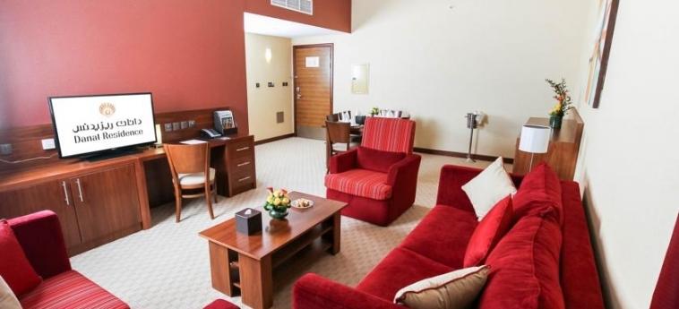 Hotel Danat Residence: Salotto ABU DHABI