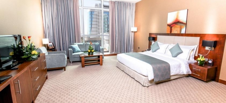 Hotel Danat Residence: Schlafzimmer ABU DHABI