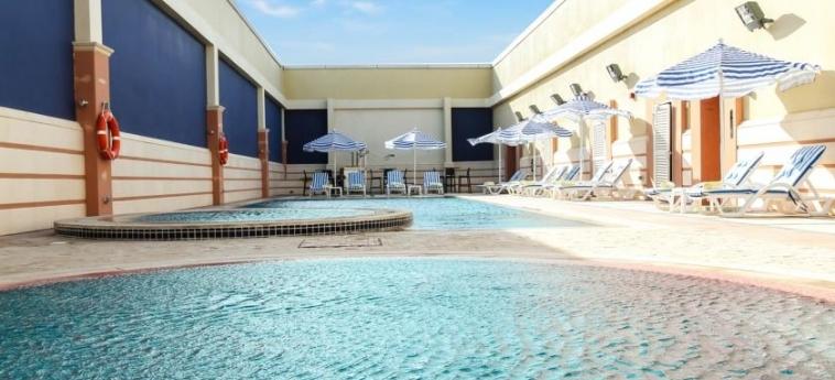 Hotel Danat Residence: Swimming Pool ABU DHABI
