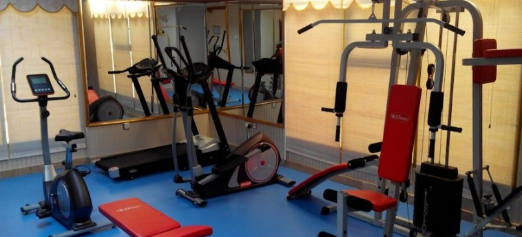 Ag Hotel: Salle de Gym ABU DHABI