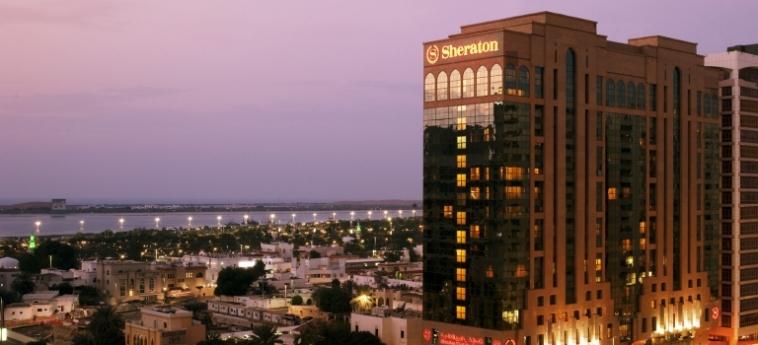 Hotel Sheraton Khalidiya: Außen ABU DHABI