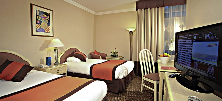 Novel Hotel City Center: Chambre jumeau ABU DHABI