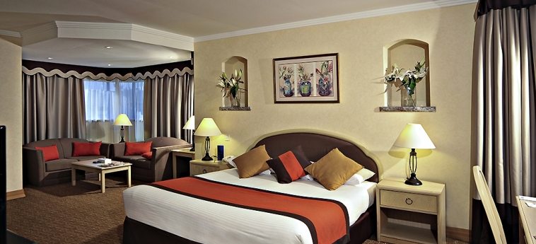 Novel Hotel City Center: Bedroom ABU DHABI