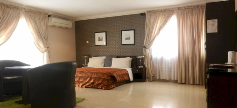 Berkshire Hotel Maitama: Zimmer- Detail ABUJA