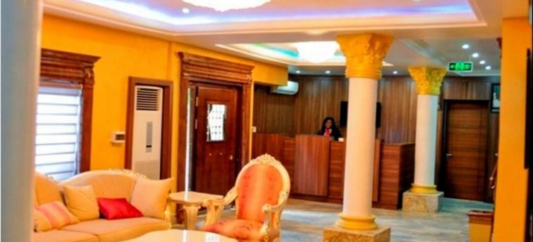 Hotel Caledonian Suites: Balcony ABUJA