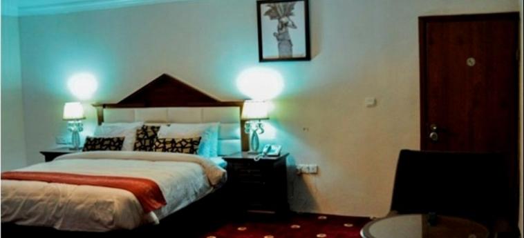 Hotel Caledonian Suites: Panorama ABUJA