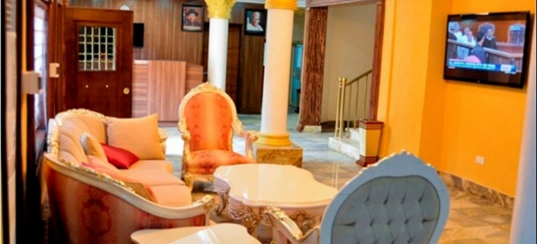 Hotel Caledonian Suites: Appartement ABUJA