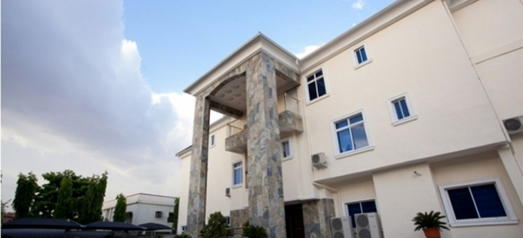 Hotel Caledonian Suites: Chambre Double ABUJA