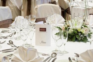 Mercure Blackburn Dunkenhalgh Hotel & Spa: Salón para Banquetes ACCRINGTON
