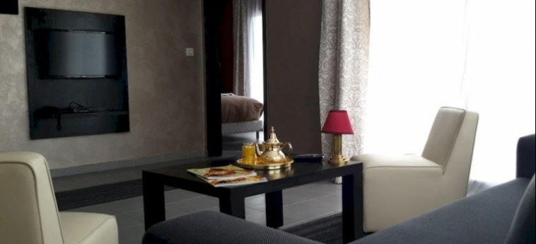 Hotel La Suite Hôtel Boutique: Zimmer- Detail AGADIR