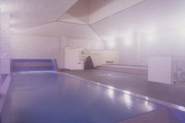 Hotel Akita Onsen Satomi: Freitreppe AKITA - AKITA PREFECTURE