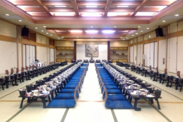 Hotel Akita Onsen Satomi: Parkplatz AKITA - AKITA PREFECTURE