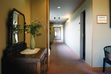Hotel Akita Onsen Satomi: Corridoio AKITA - PREFETTURA DI AKITA