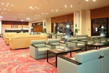 Hotel Akita Onsen Satomi: Lobby AKITA - PREFETTURA DI AKITA