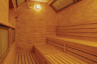 Hotel Akita Onsen Satomi: Sauna AKITA - PREFETTURA DI AKITA