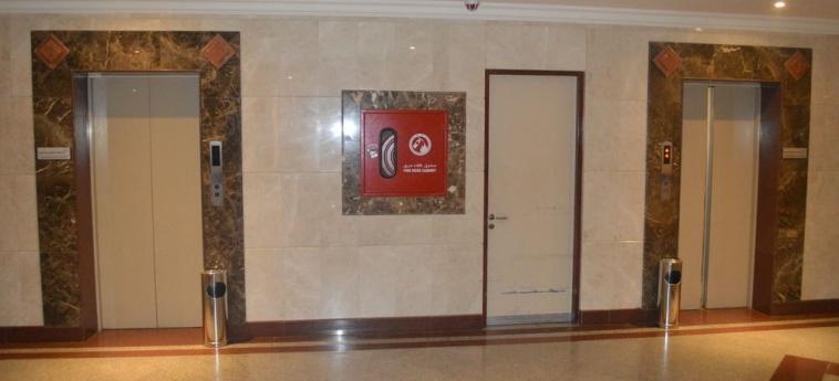 Hotel Coral Plaza Al Ahsa: Hallway AL HOFUF
