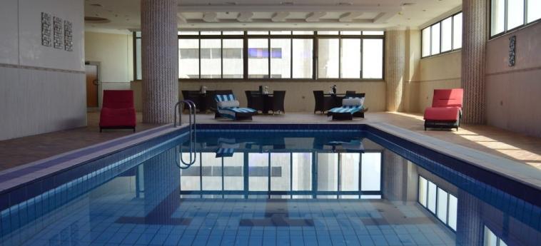 Hotel Coral Plaza Al Ahsa: Indoor Swimmingpool AL HOFUF