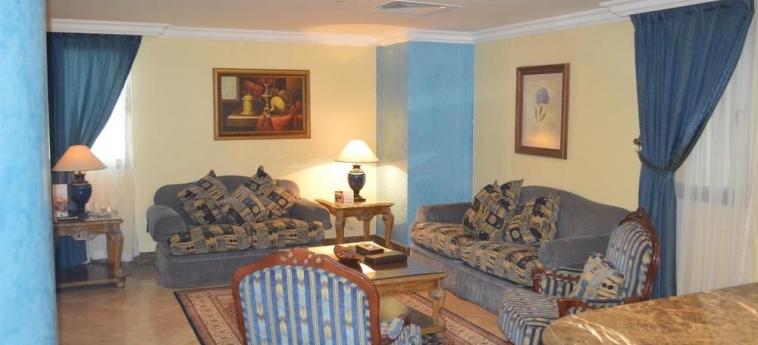 Hotel Coral Plaza Al Ahsa: Living area AL HOFUF