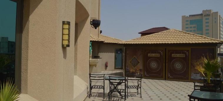Hotel Coral Plaza Al Ahsa: Terrace/Patio AL HOFUF