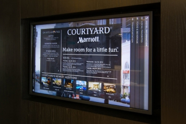 Hotel Courtyard By Marriott San Jose Airport Alajuela: Banco check-in/check-out ALAJUELA - ALAJUELA