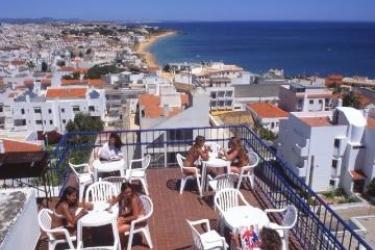 Hotel Da Gale: Terraza ALBUFEIRA - ALGARVE