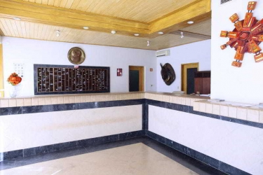 Hotel Apartamentos Turisticos Albufeira Jardim: Lobby ALBUFEIRA - ALGARVE