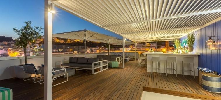 Hotel Baltum: Terraza ALBUFEIRA - ALGARVE