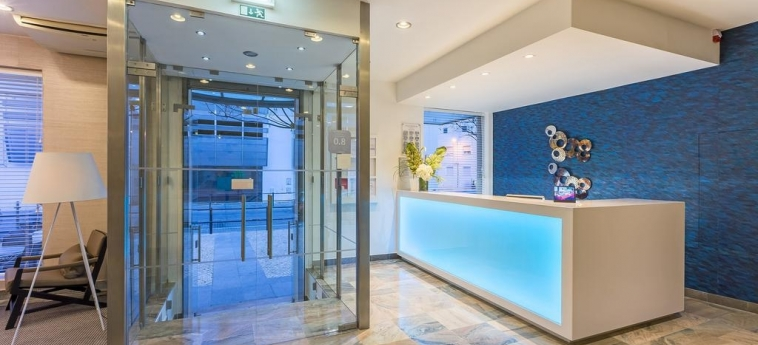 Hotel Baltum: Reception ALBUFEIRA - ALGARVE