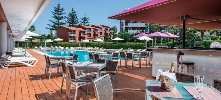 Areias Village Hotel Apartamento: Außen Bar ALBUFEIRA - ALGARVE