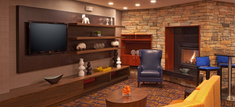Hotel Courtyard By Marriott Alexandria Pentagon South: Area salotto ALEXANDRIA (VA)