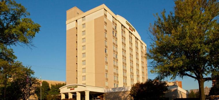 Hotel Courtyard By Marriott Alexandria Pentagon South: Facciata dell'hotel ALEXANDRIA (VA)