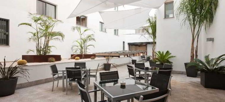 Hotel Mercure Algeciras: Terrasse ALGESIRAS - COSTA DEL SOL