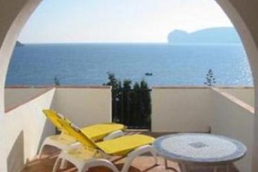 Hotel El Faro: Veranda ALGHERO - SASSARI