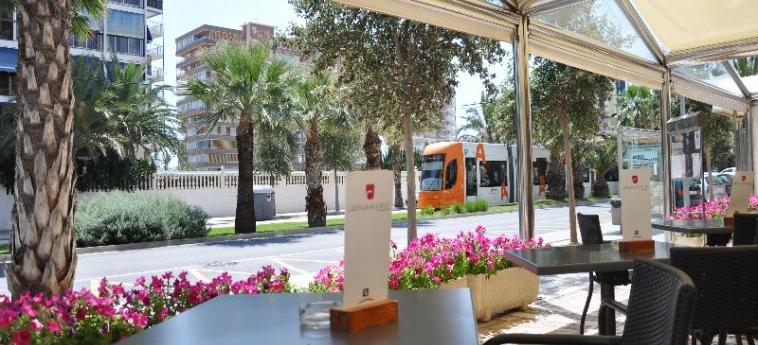 Hotel Castilla Alicante: Terrasse ALICANTE - COSTA BLANCA