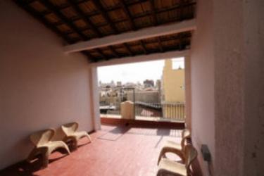 Hotel Hostal De Sal: Terrazza ALICANTE - COSTA BLANCA