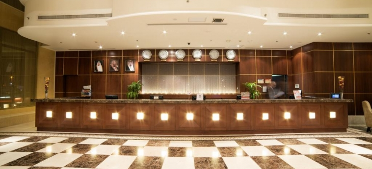 Hotel Crowne Plaza Al Khobar: Reception ALKHOBAR