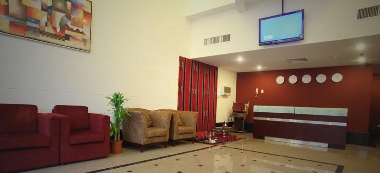Hotel Golden Rose Al Khobar: Reception ALKHOBAR
