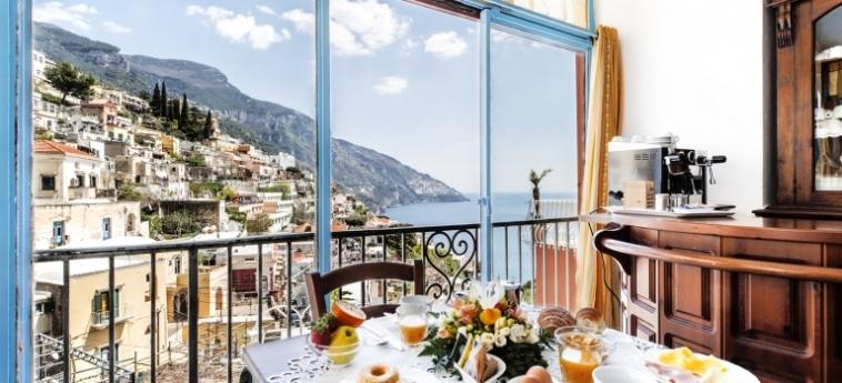 Hotel Florida Residence: Frühstücksraum AMALFI KUSTE